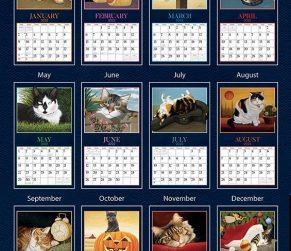 American Cat 2022_3 Lang Kalender