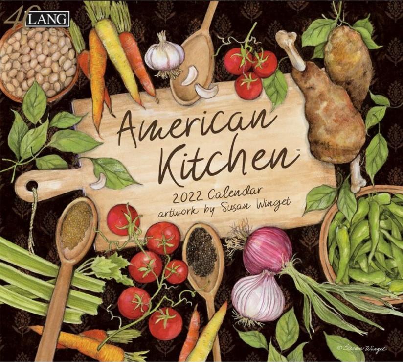 American Kitchen 2022 Lang Kalender