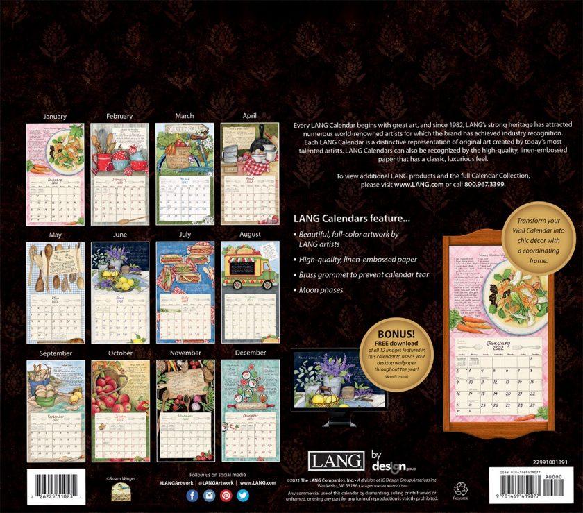 American Kitchen 2022_1 Lang Kalender