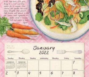 American Kitchen 2022_2 Lang Kalender