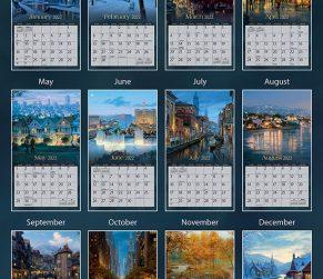 Around the World 2022 Lang Kalender_3