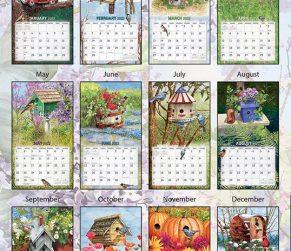 Birdhouses 2022 Lang Kalender_3
