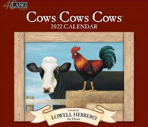 Cows Cows Cows 2022 Lang Kalender Best Verrkocht