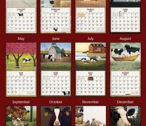 Cows Cows Cows 2022 Lang Kalender_3
