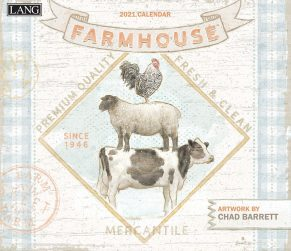 Farmhouse 2021 Lang Kalender