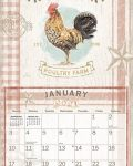 Farmhouse 2021 Lang Kalender Maandplaatje
