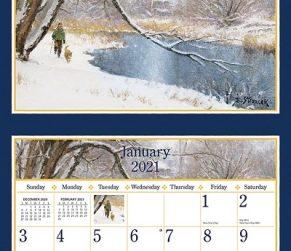 Four Seasons 2021 Lang Kalender Maandplaatje