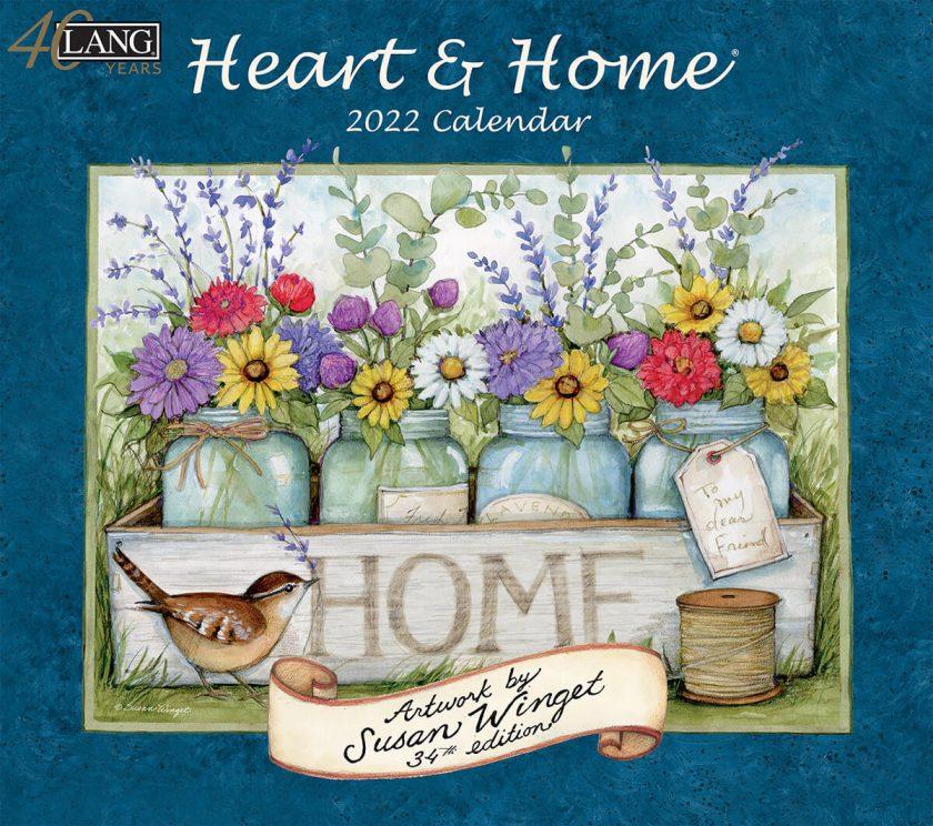 Heart & Home 2022 Lang Kalender Best Verkocht