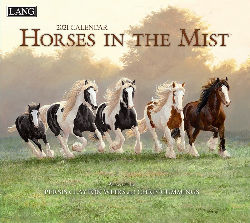 Horses in the Mist 2021 Lang Kalender