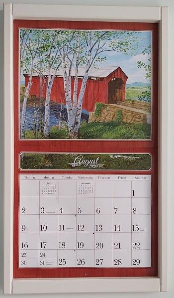 Lang Kalender Frame Cream Kleur