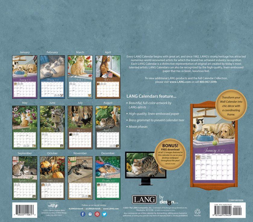 Love of Cats 2022_1 Lang Kalender