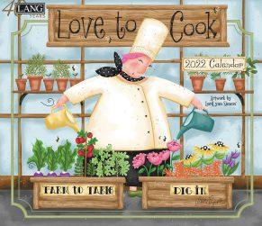 Love to Cook 2022 Lang Kalender Best Verkocht