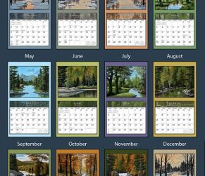 Lure of the Outdoors 2022_3 Lang Kalender
