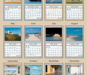 Seaside 2022_3 Lang Kalender