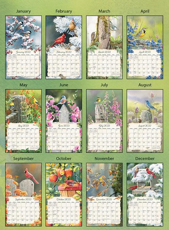 Songbirds 2022_3 Lang Kalender