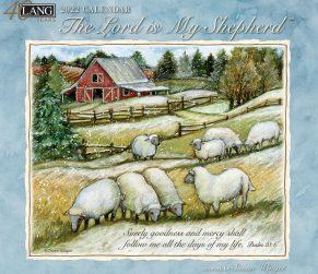 The Lord is my Shepherd 2022 Lang Kalender