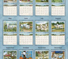 The Lord is my Shepherd 2022_3 Lang Kalender