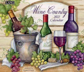 Wine Country 2022 Lang Kalender