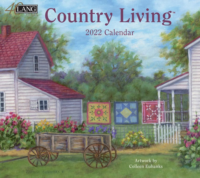 Country Living 2022 Lang Kalender