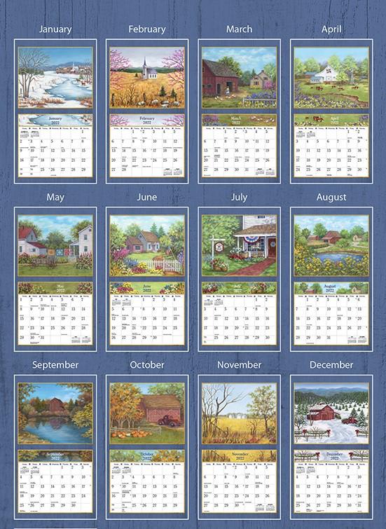 Country Living 2022 Lang Kalender_3