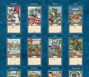 Heart & Home 2022_1 Lang Verticale Kalender