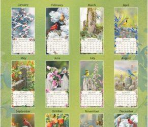 Songbirds 2022 Lang Verticale Kalender