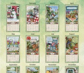Bountiful Blessings 2022_1 Lang Verticale Kalender