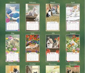 Cats in the Country 2022_1 Lang Verticale Kalender