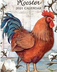 Proud Rooster 2021 Verticale Lang Kalender