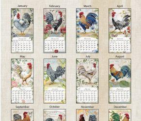 Proud Roosters 2022_1 Lang Verticale Kalender