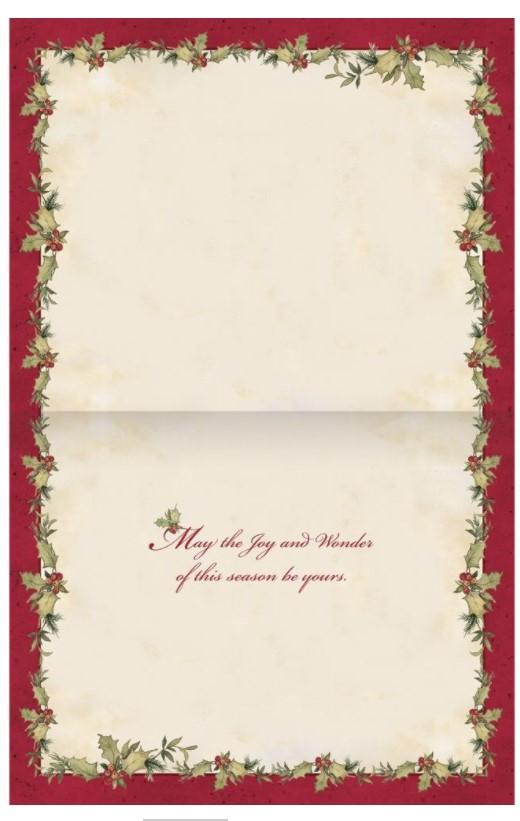 Grown Up Christmas Wish Boxed Christmas Cards