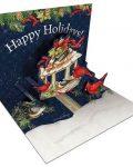 Cardinal Christmas Popup Cards 2005108