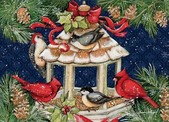 Cardinal Christmas Popup Cards 2005108_a