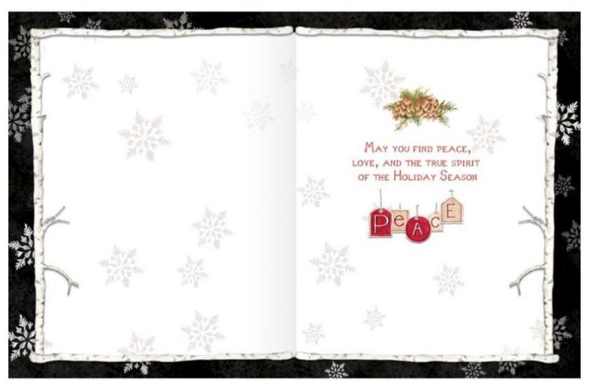 Woodland Christmas Cards 1008109F3
