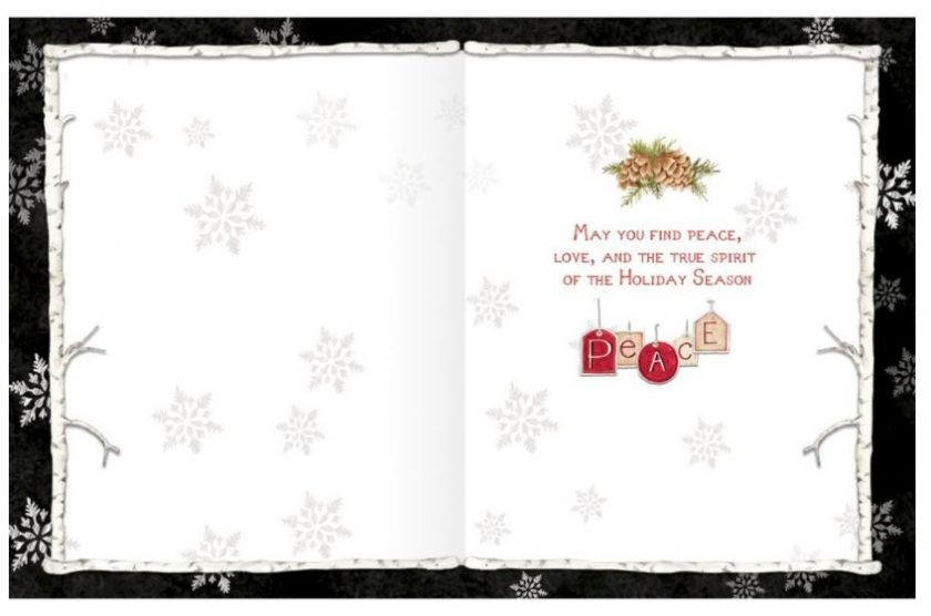 Woodland Christmas Cards 1008109F4