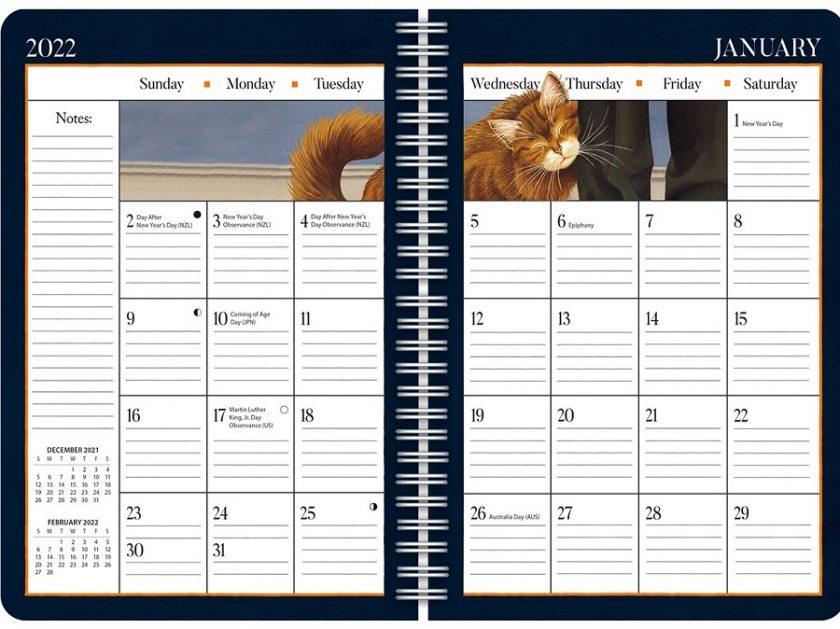 American Cat 2022_2 Lang Engagement Planner