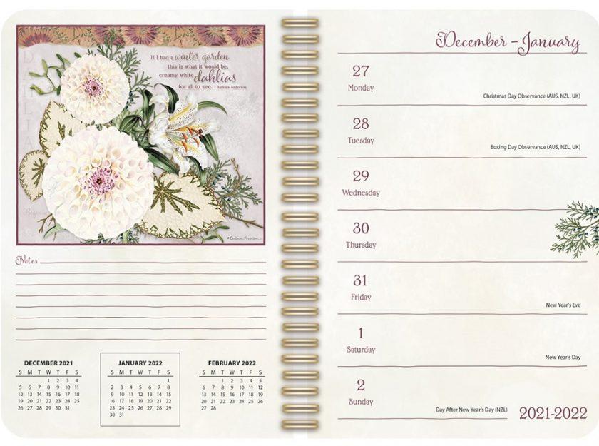 Garden Botanicals 2022_2 Lang Engagement Planner