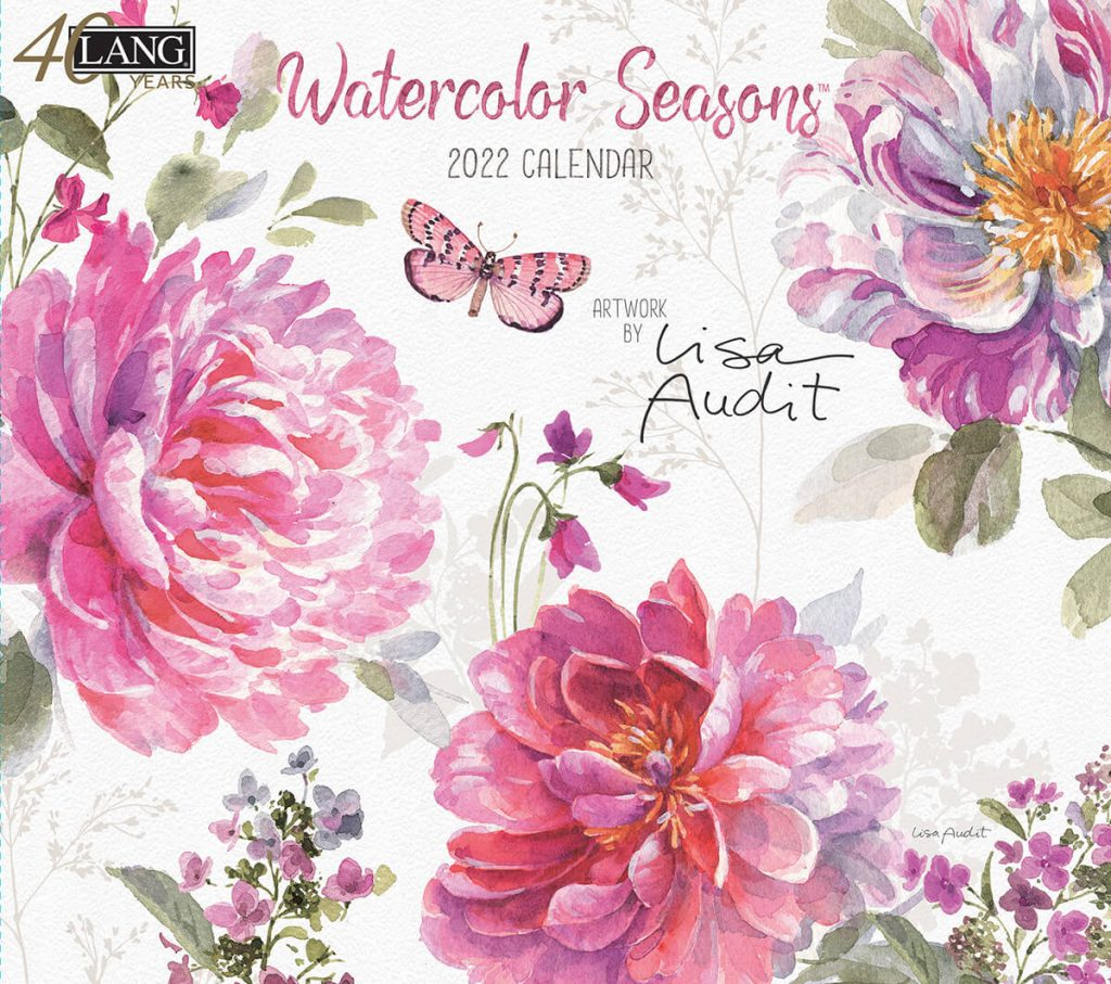 Watercolor Seasons 2022 Lang Kalender Beste Verkocht