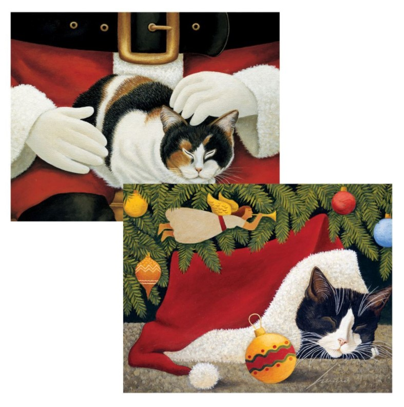 Furry Friends Christmas Cards by Lang