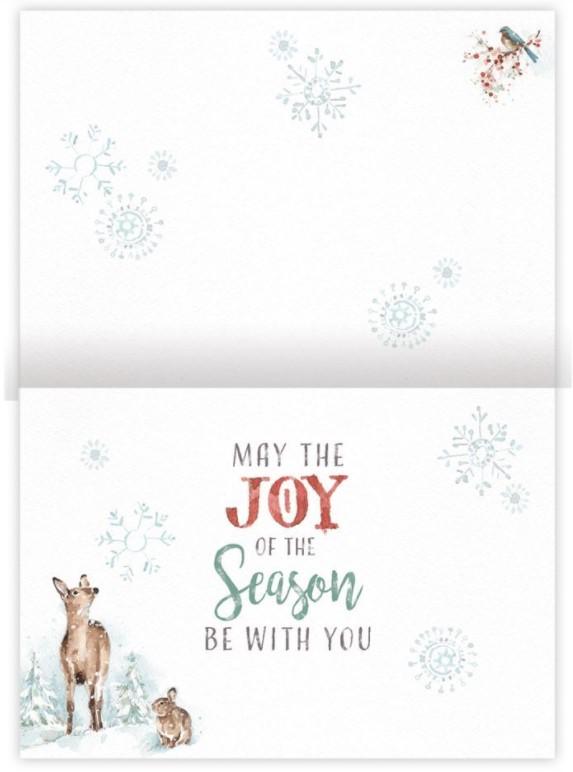 Good Tidings Petite Christmas Cards 2004540-2