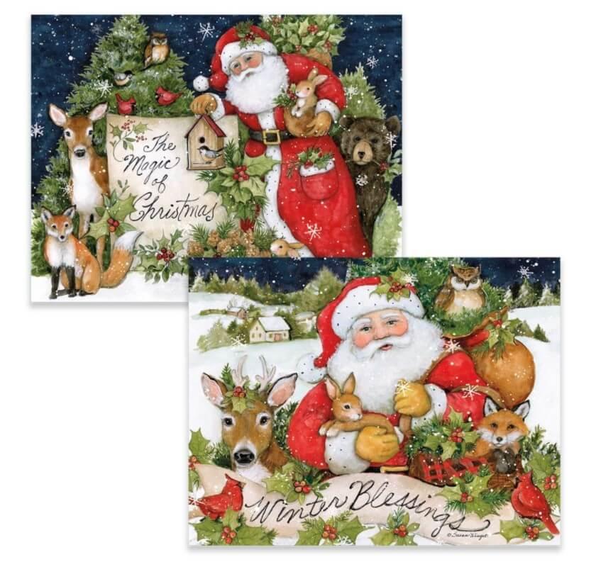 Magic Of Christmas Christmas Cards 1008118