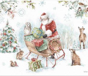 Magical Holiday Kerst Kaarten van Lang 1004865F