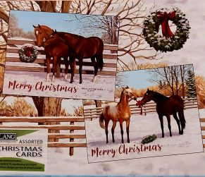 Pasture Holiday Assorted Christmas Lang Cards