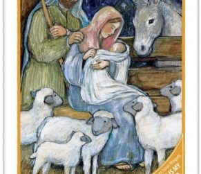 Sheep Nativity Lang Puzzel 5040118F