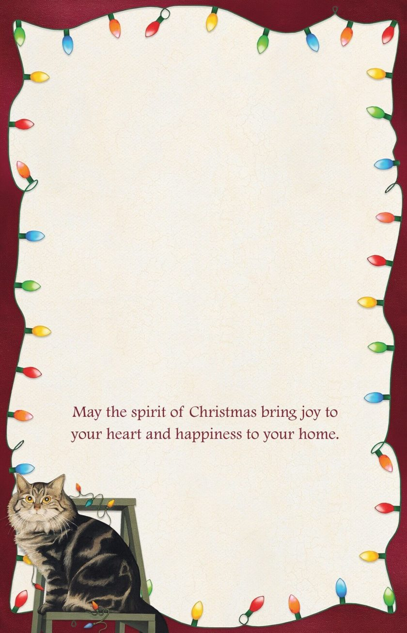 Stringing Lights Christmas Cards by Lang 1004833 i