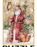 Woodland Santa Lang Puzzel 5040105F (Small)
