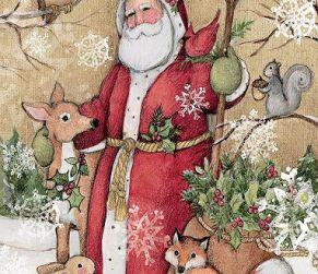 Woodland Santa Lang Puzzel 5040105P