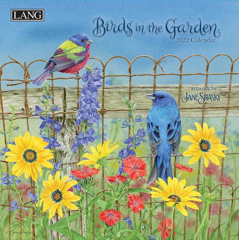 Birds in the Garden 2022 Lang Mini Kalender