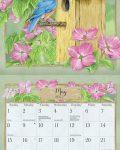 Birds in the Garden 2022_3 Lang Mini Kalender