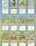 Birds in the Garden 2022_5 Lang Mini Kalender
